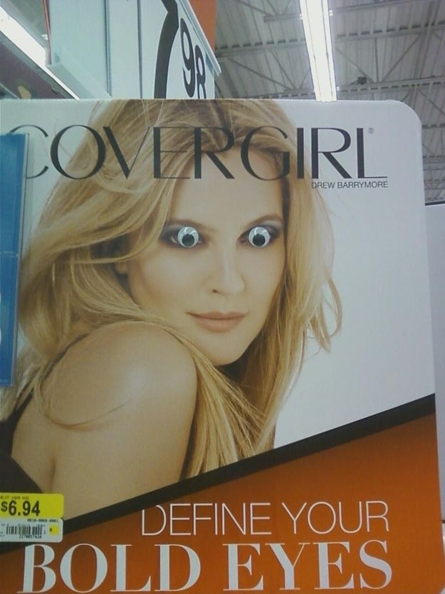 Because everything is better with googly eyes.