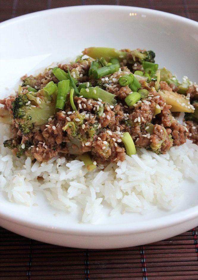 Ma Cuisine De Tous Les Jours Boeuf Et Brocoli A La Chinoise