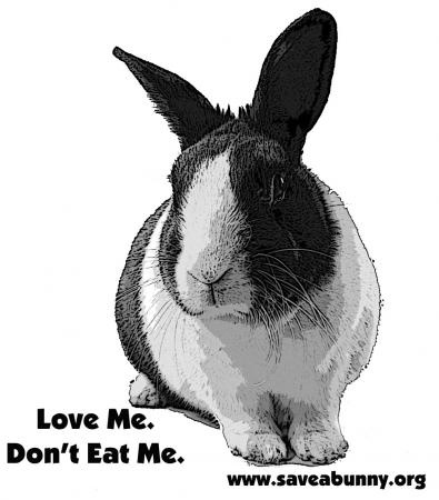 Because bunnies are pets and not dinner.