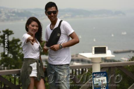 Japonia are stand-uri speciale pentru selfie-uri