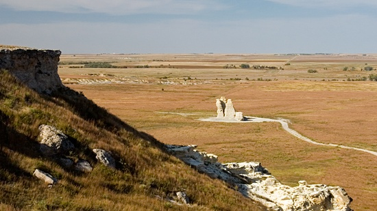 Like seeing the hidden gems of places in your own backyard? Check out Castle Rock in Kansas, USA.