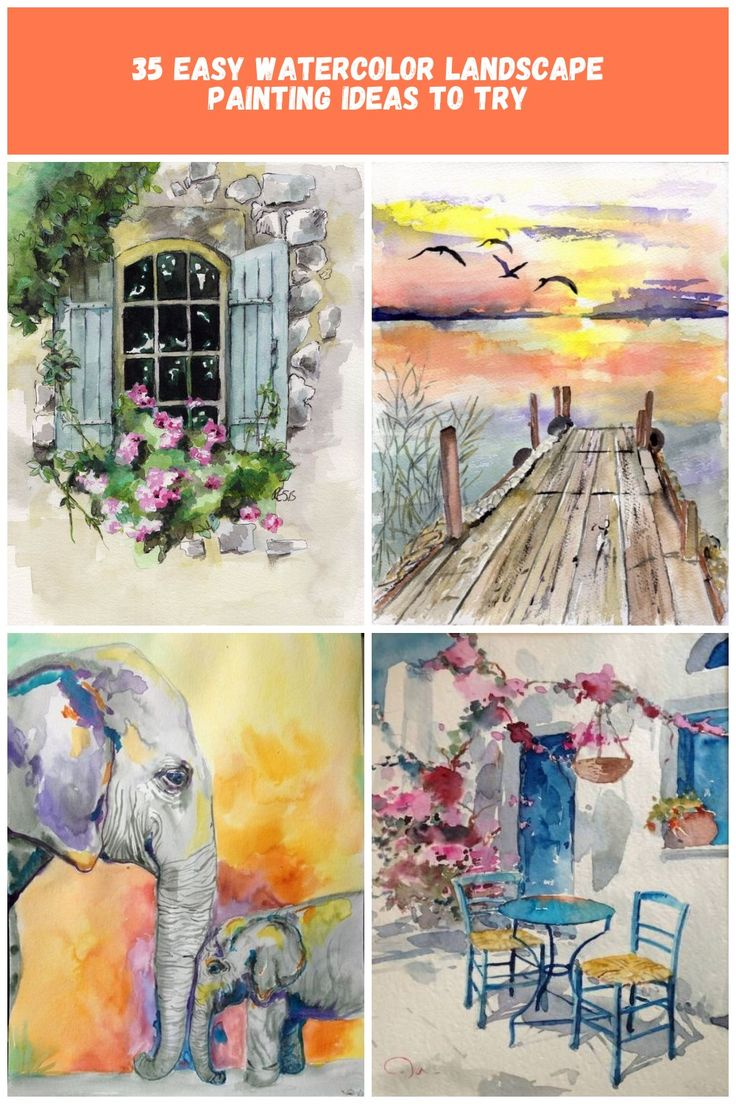 Window Painting  Print from Original by TheColorfulCatStudio, $20.00 watercolor …