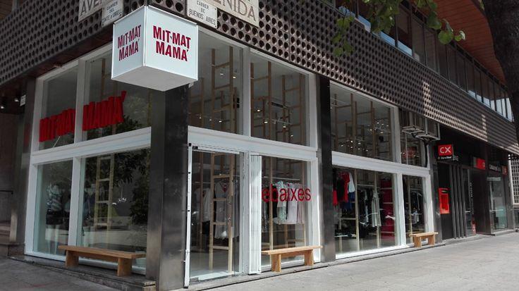 Tienda ropa para mujer #embarazada en la calle Urgell 282 de #Barcelona #moda #premamá exclusiva