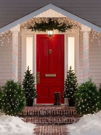 Image result for pictures of Christmas outdoor decor Small Town