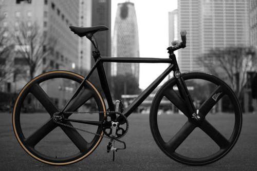 : Fixi, Bicycles, Riding, Wheels, Black Bike, Matte Black, Black Gold, Single Speed, Gears