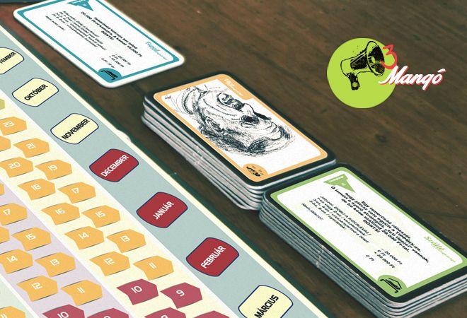 Társasjáték grafikai tervezés