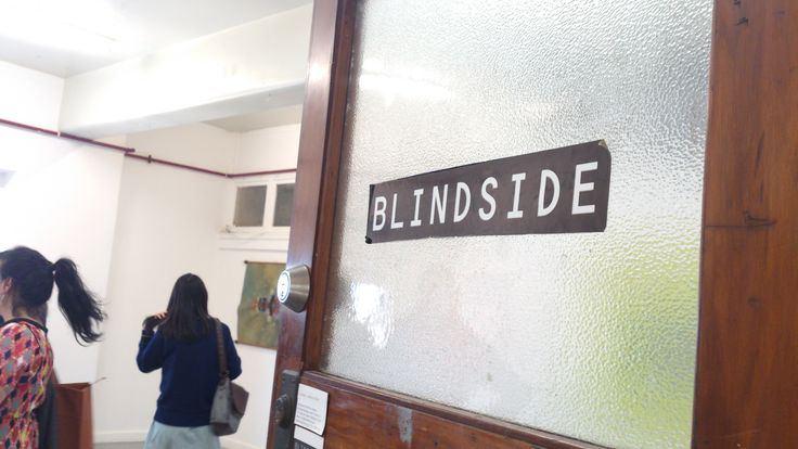 Here it is, blind side gallery