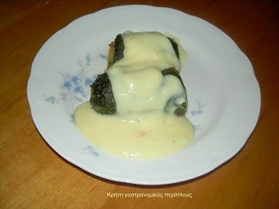 Κολοκυθάκια γεμιστά με κιμά και σάλτσα αυγολέμονο – Κρήτη: Γαστρονομικός Περίπλους