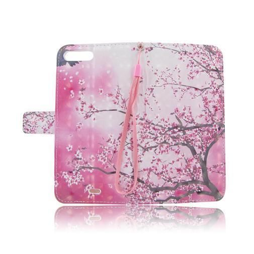 Pink Flower Flip Leather Case Cover Folio Pouch For Apple iPhone 7 7Plus #UnbrandedGeneric