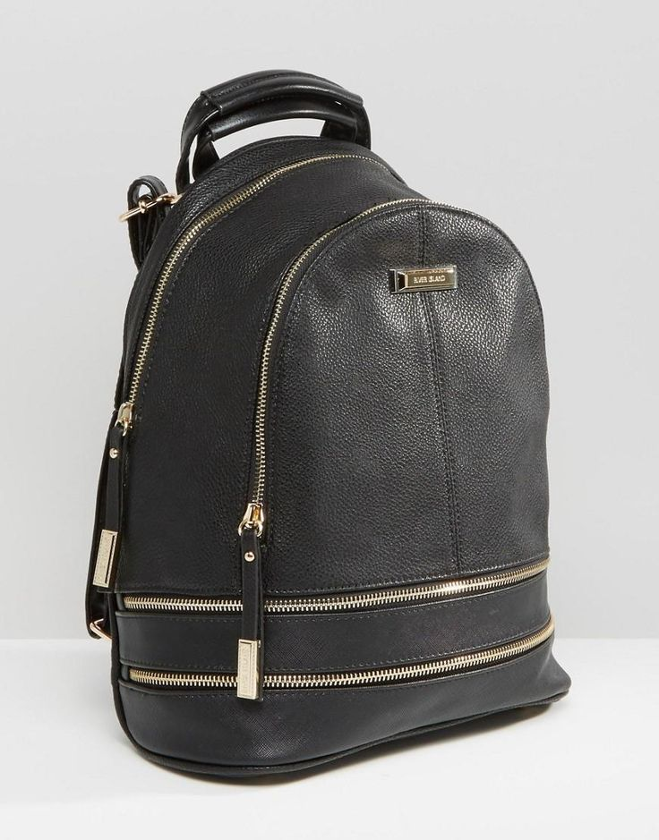 River Island | River Island Zip Detail Rucksack at ASOS