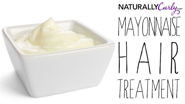 Mayonnaise Hair Treatment | 21 Deliciously Rich DIY Treatments For Your Summer-Starved Hair