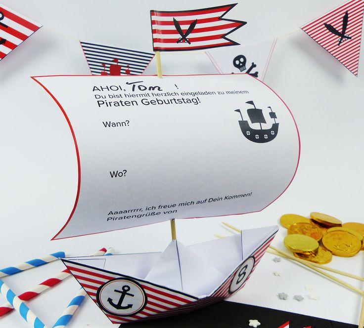 Basteln Am Kindergeburtstag Die 7 Besten Ideen Focusde: Die Besten 25+ Piratenschiff Basteln Ideen Auf Pinterest