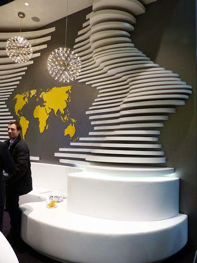 Salon Euroshop 2014 Stand Tradeshow DesignBooth DesignWall DesignRetail InteriorInterior OfficeExhibition