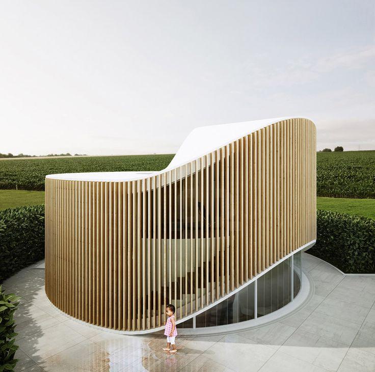 house O for wood artist in beijing by penda @chrisprecht