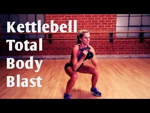20 Minute Total Body Kettlebell Blast Workout for Strength and Cardio - YouTube