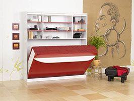 Меблі-трансформер ліжко поличка