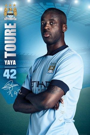 Yaya Toure - Manchester City Football Club
