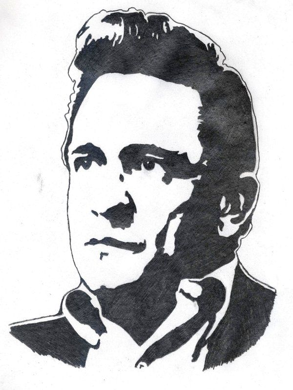 johnny cash coloring pages Google