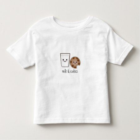 Milk & Cookies Toddler T-shirt - tap, personalize, buy right now!