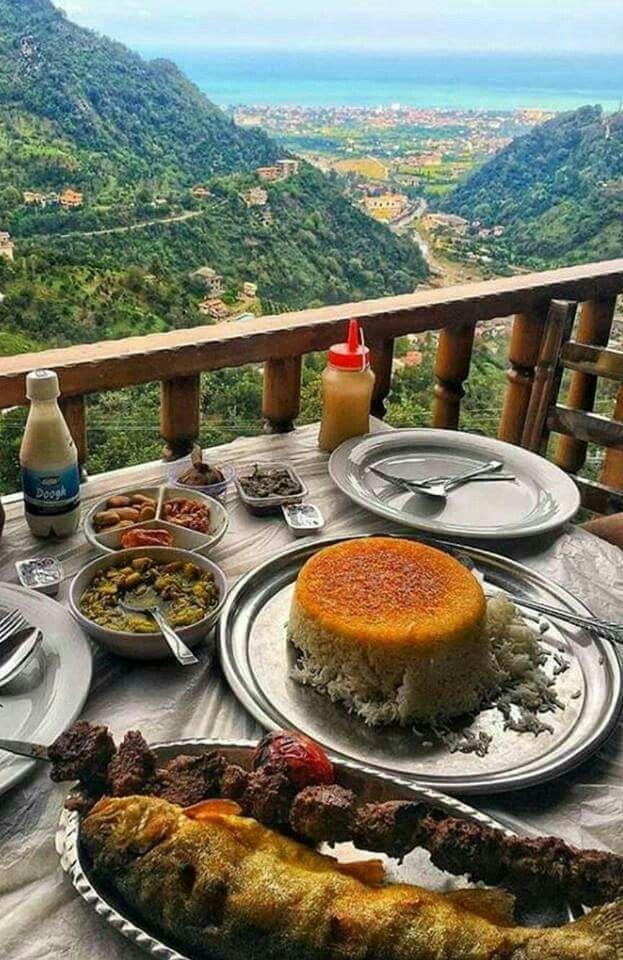 Chaboksar, Gilan , Iran .Miss khavar Restaurant.. رستوران خاور خانم
