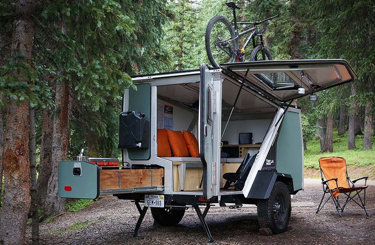 """It's awesome when someone comes up with a new take on an idea that works. When it comes to lightweight trailers that can be towed by 4-cylinder vehicles, the Tigermoth trailer is no exception. There are essentially 2 Tigermoth models, """"Camp"""" and """"Trek"""". The base trailer is essentially the same..."""