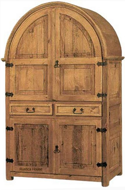Awesome Mexican Rustic Wooden Armoire Is In Rustic Spanish Style. The Armoire Is  Handmade In Natural Pine, Rustic Or Colonial Finishing. Mexican Furniture  ...