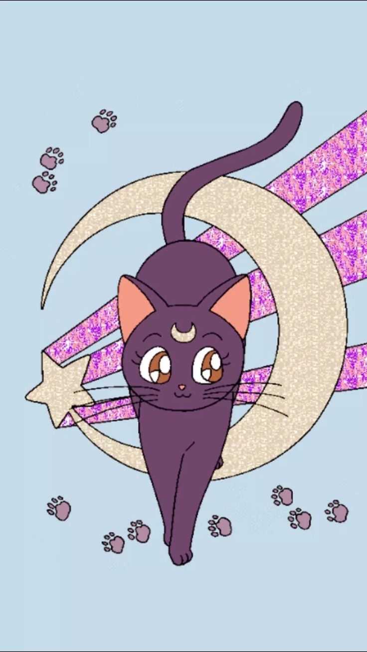 Artemis Sailor Moon Wallpaper