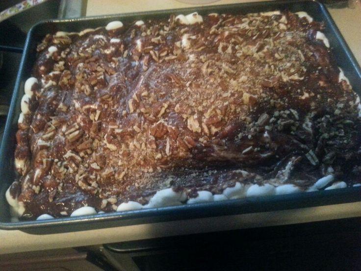 Mississippi mud cake | Favorite Recipes | Pinterest
