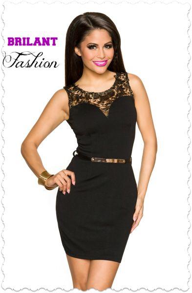 Šaty so zlatou čipkou | Brilantfashion Velkoobchod