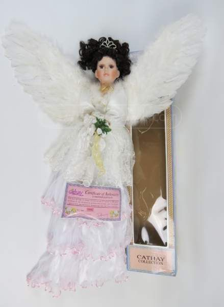 Cathay Collection Umbrella Angel Doll 1 5000 Unique Dolls For Sale Pinterest Dolls Umbrellas And Angel