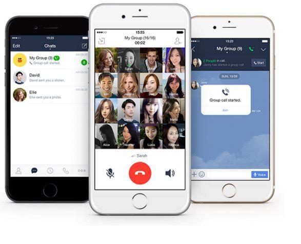 #Comunicación #line #llamadas LINE ya permite realizar llamadas en grupo desde móvil, Windows y Mac