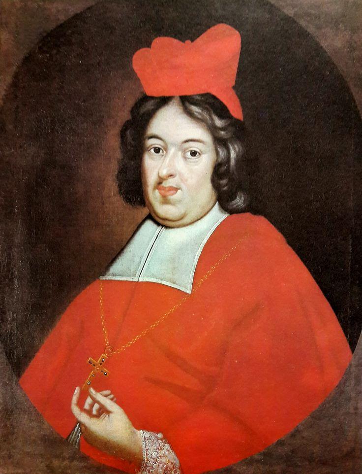 Portrait of Primate Michał Stefan Radziejowski by Anonymous from Poland, ca. 1700 (PD-art/old), Parafia Katedralna pw. Wniebowzięcia NMP i św. Mikołaja w Łowiczu