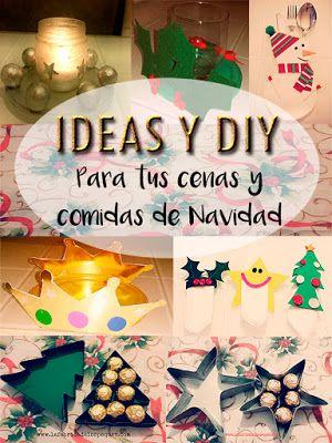 ideas y diy para tus cenas y comidas navideas