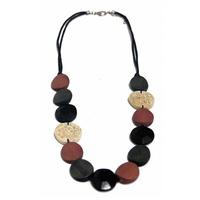 Annika necklace - black