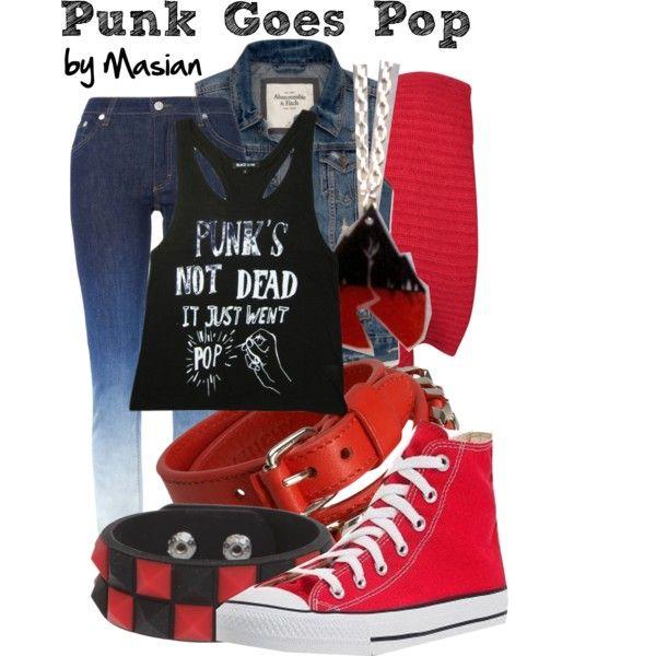 """Punk Goes Pop"" by callmemasian on Polyvore! follow her fashion blog at http://styledbymasian.tumblr.com!"