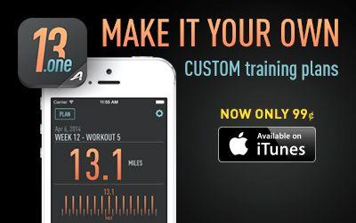 13.1 cool running advanced training plan for sub 1:30