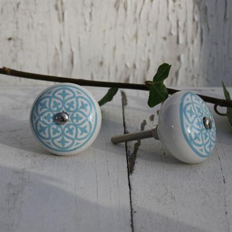 Knopp Marrakech - blå