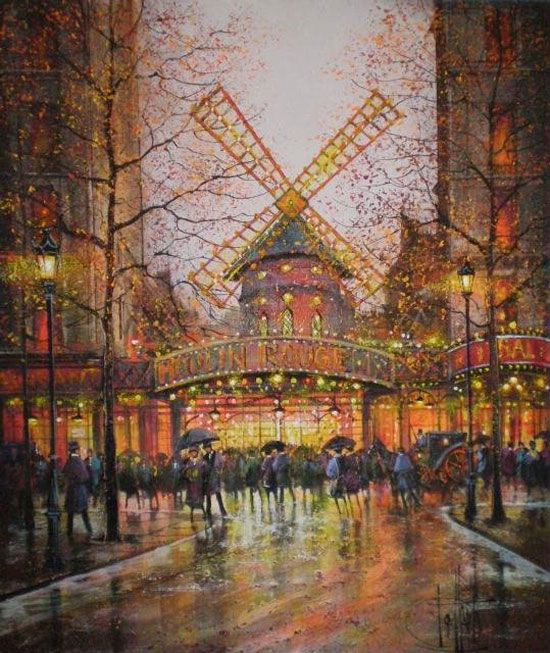 Impressionism Paris: 11 Best Images About 画家/ギイ・デサップGuy DESSAPT On Pinterest