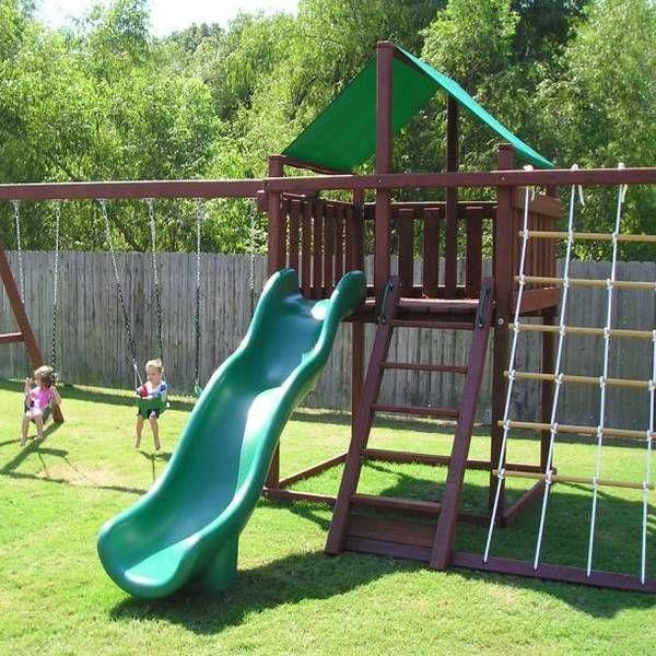 Trailblazer Swing Sets / Fort Kits Price: $469.00. Sale Price: $399.95