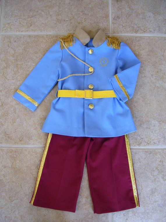 Prince Charming Children's Costume Sizes by ANeedlePullingThread, $59.00