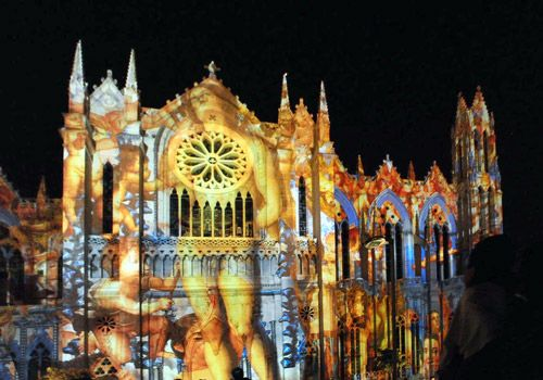 Leon, Mexico cathedral I've seen this in person and it's beautiful