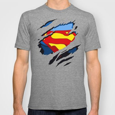 superhero torn - SuperMan T-shirt