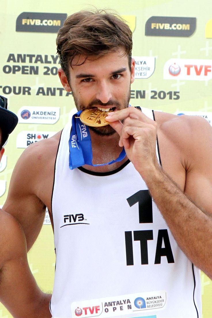 Alex Ranghieri Country: Italy, Sport: Beach volleyball —  Alex! Mamma mia!