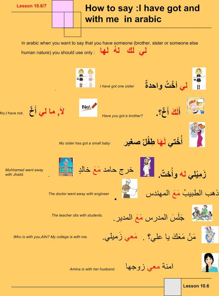 Arabische grammatik learn english