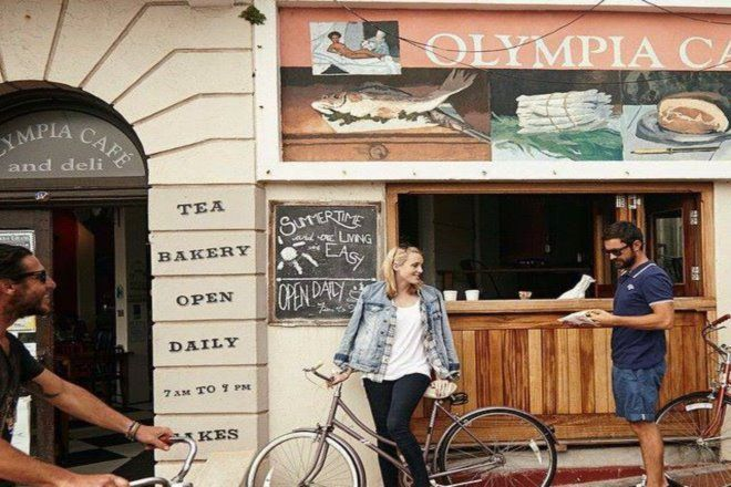 Olympia Cafe, Kalk Bay, Cape Town. Have the mussels.