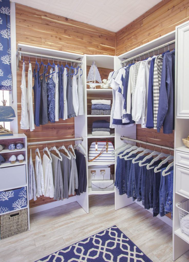 Closets don't have to be JUST storage. Restyle your closet for the summer with aromatic cedar. www.cedarsafe.com