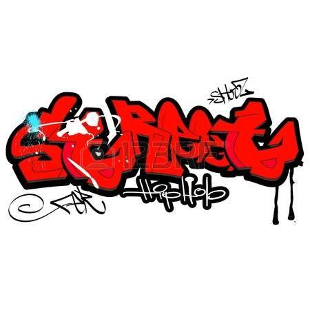 Graffiti tło, sztuka miejska photo