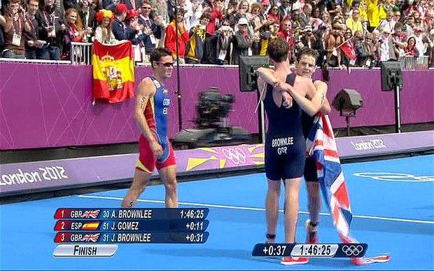 Jonny Brownlee Triathlon BRONZE MEDAL  Leeds Lad!