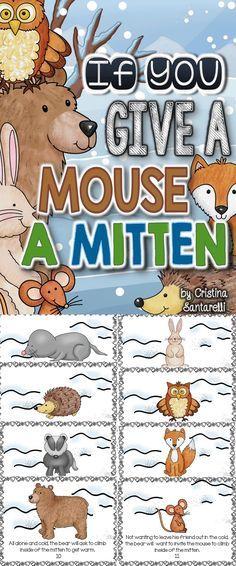 Mitten Literacy & Math Activities!