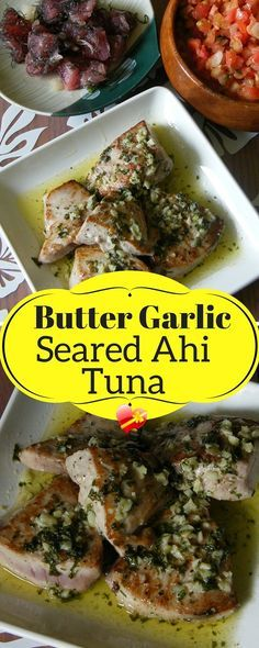 Delicious fried ahi tuna with garlic sauce. Simply delicious. Get more Hawaiian style recipes here.